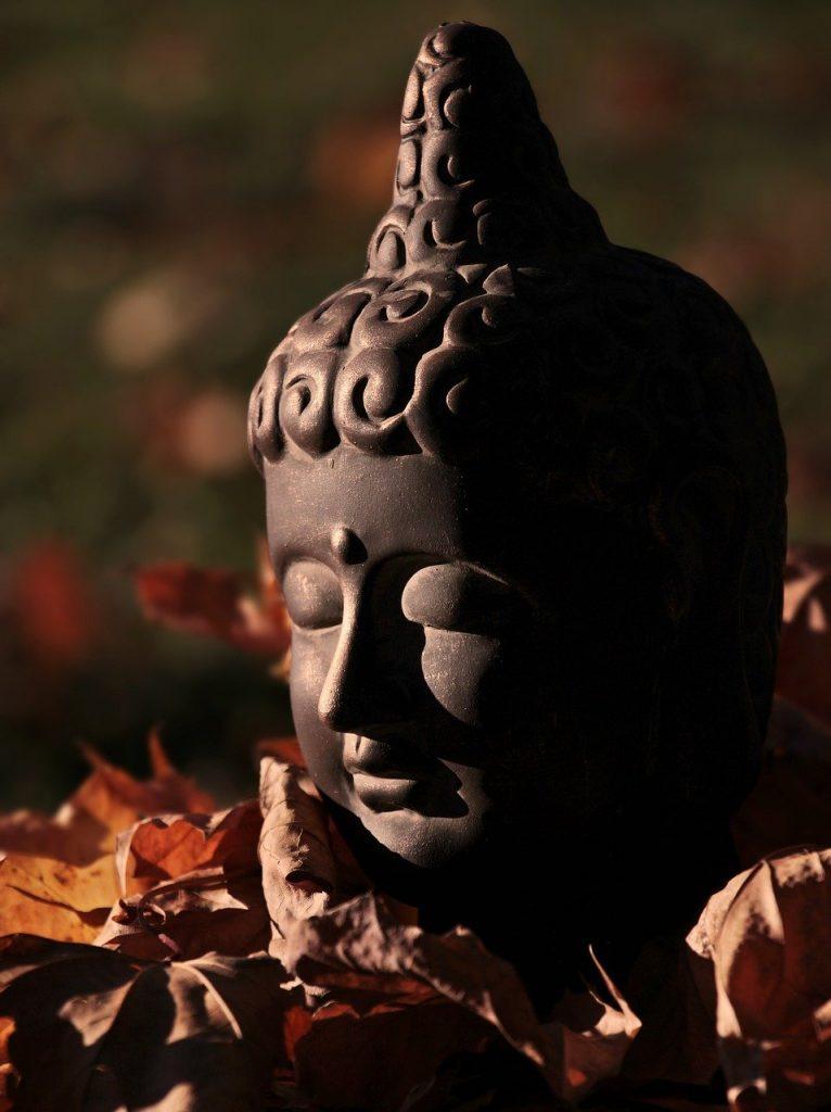 buddha, buddha figure, head